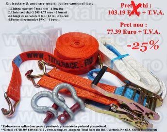 kit ancorare tractare camion tir transport rutier