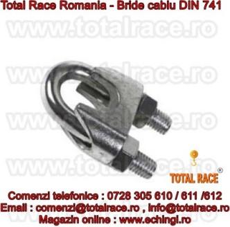 Bride cablu turnate DIN 741 echingi.ro