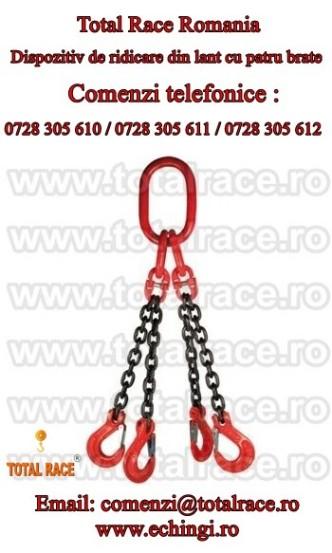 Carlige, lanturi, echipamente de ridicat din lant