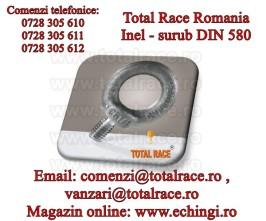 Inel de ridicare surub DIN 580 otel