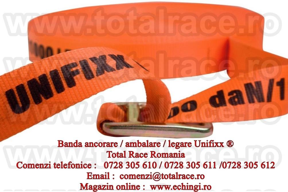 Banda fixare Unifixx® pentru transport lemn Banda Unifixx® ambalare / ancorare tevi