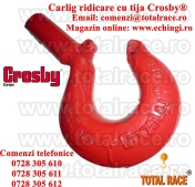 Carlige forjate cu tija pentru ridicat sarcini Crosby