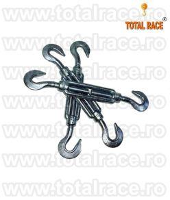 Intinzatoare cablu carlig-carlig tip C-C stoc Bucuresti Intinzator cablu cu doua carlige M8 Total Race