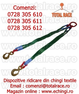 Dispozitive de ridicare din chingi textileTotal Race