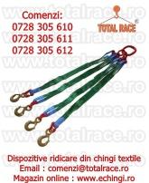 Dispozitive ridicare chingi cu 4 brate Total Race