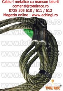 Cabluri metalice macara stoc Bucuresti