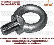 Inel de ridicare din otel zincat pentru deplasarea greutatilor DIN580 M36
